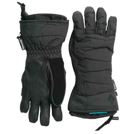 Black Diamond Equipment Ruby Thinsulate® Gloves - Waterproof, Insulated (For Women) in Black - Closeouts