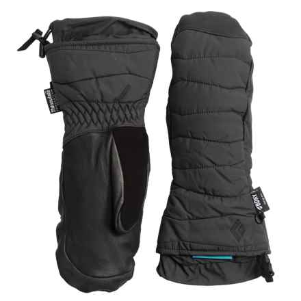 Black Diamond Equipment Ruby Thinsulate® Mittens - Waterproof, Insulated (For Women) in Black - Closeouts