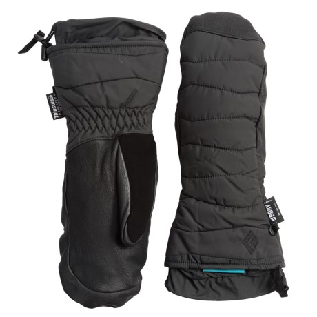 Black Diamond Equipment Ruby Thinsulate® Mittens - Waterproof, Insulated (For Women)