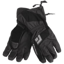 Black Diamond Equipment Scout Gloves - Waterproof (For Men) in Black - Closeouts
