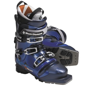 Black Diamond Equipment Seeker Telemark Ski Boots (For Men and Women) in Indigo