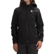 Black Diamond Equipment Sharp End Shell Gore-Tex® Jacket - Waterproof (For Women) in Black - Closeouts
