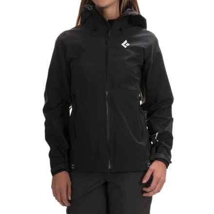 Black Diamond Equipment Sharp End Shell Gore-Tex® Jacket - Waterproof (For Women) in Black - Closeouts