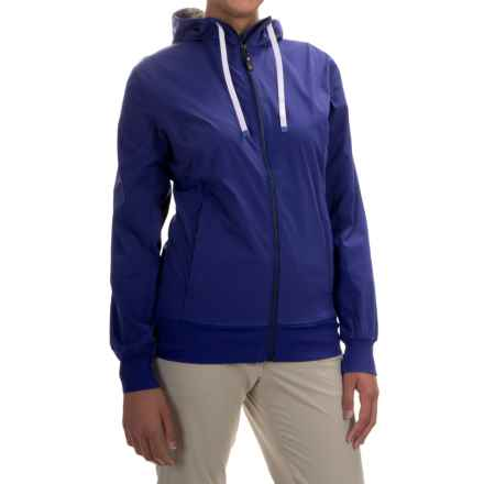 Black Diamond Equipment Sinestra Hoodie - Full Zip (For Women) in Spectrum Blue - Closeouts