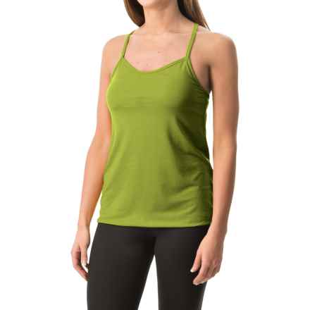 Black Diamond Equipment Sister Superior Tank Top - Built-In Bra (For Women) in Grass - Closeouts