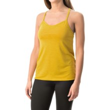Black Diamond Equipment Sister Superior Tank Top - Built-In Bra (For Women) in Ochre - Closeouts