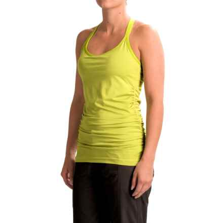 Black Diamond Equipment Six Shooter Tank Top - Built-in Shelf Bra (For Women) in Grass - Closeouts