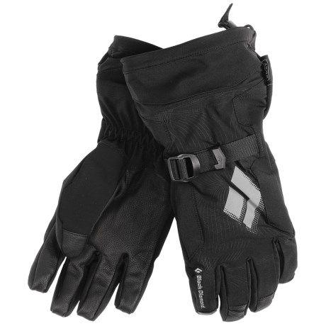 Black Diamond Equipment Soloist Gloves - Waterproof, Insulated (For Men) in Black