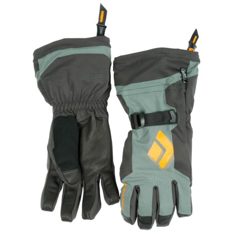 Black Diamond Equipment Soloist Gloves - Waterproof, Insulated (For Men) in Gunmetal