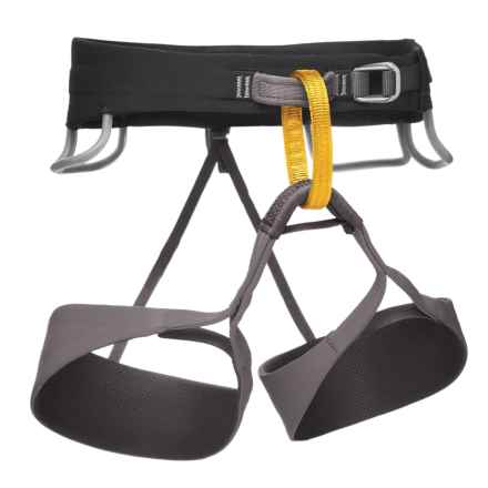 Black Diamond Equipment Solution Climbing Harness (For Men) in Slate - Closeouts