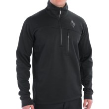 Black Diamond Equipment Solution Polartec® Fleece Pullover Jacket - Zip Neck (For Men) in Black - Closeouts