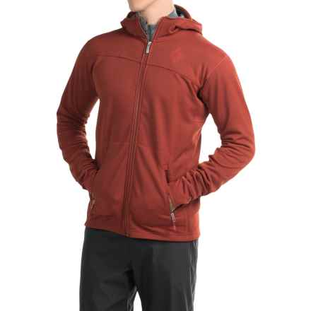 Black Diamond Equipment Solution Polartec® Hooded Jacket - Insulated (For Men) in Deep Torch - Closeouts