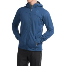 Black Diamond Equipment Solution Polartec® Hooded Jacket - Insulated (For Men) in Denim - Closeouts