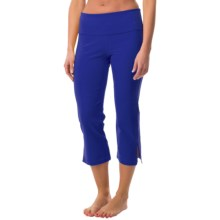Black Diamond Equipment Southern Sun Capris (For Women) in Spectrum Blue - Closeouts
