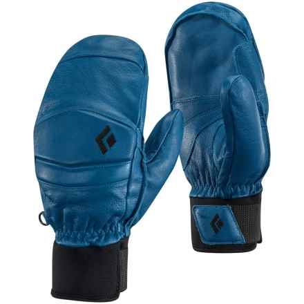Black Diamond Equipment Spark Mitts PrimaLoft® Mittens - Waterproof, Leather in Ultra Blue - Closeouts