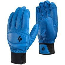 Black Diamond Equipment Spark PrimaLoft® Gloves - Waterproof, Insulated (For Men and Women) in Ultra Blue - Closeouts