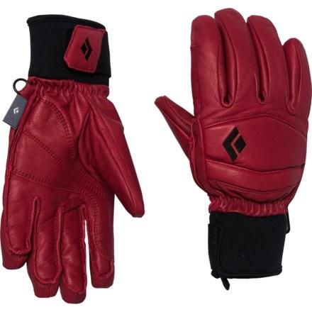 ccfdd8ea91945 Black Diamond Equipment Spark PrimaLoft® Leather Gloves - Waterproof,  Insulated (For Men)