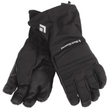 Black Diamond Equipment Specialist Gloves - Waterproof (For Men) in Black - Closeouts