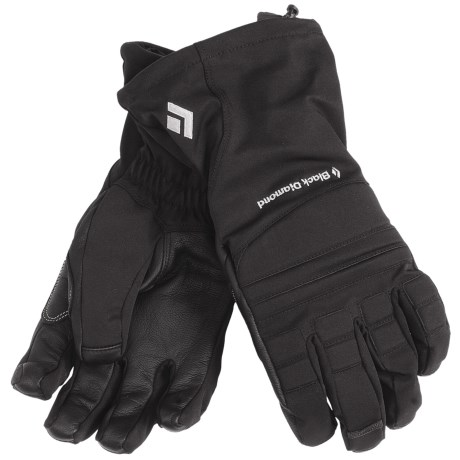 Black Diamond Equipment Specialist Gloves - Waterproof (For Men) in Black
