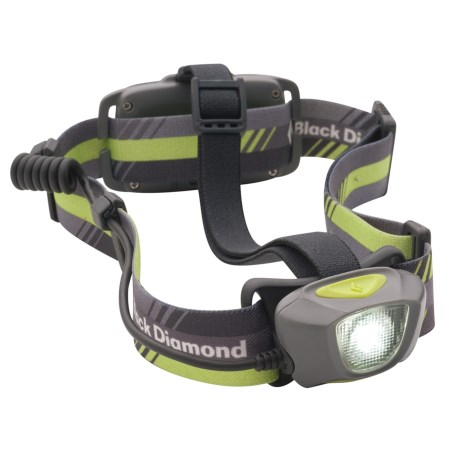 Black Diamond Equipment Sprinter LED Headlamp in Titanium