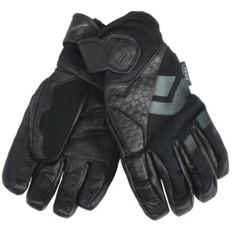 Black Diamond Equipment Spy Gloves - Waterproof (For Men) in Black