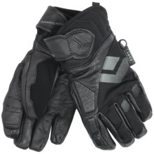 Black Diamond Equipment Spy Gloves - Waterproof (For Women) in Black - Closeouts