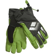 Black Diamond Equipment Squad Gore-Tex® XCR® Gloves - Waterproof, Insulated (For Men) in Lime Green - Closeouts