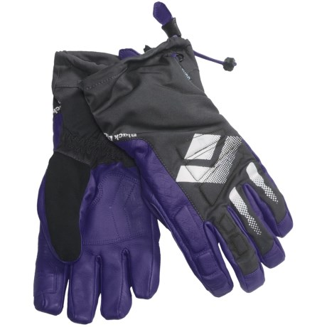 Black Diamond Equipment Squad Gore-Tex® XCR® Gloves - Waterproof, Insulated (For Men) in Spectrum Blue