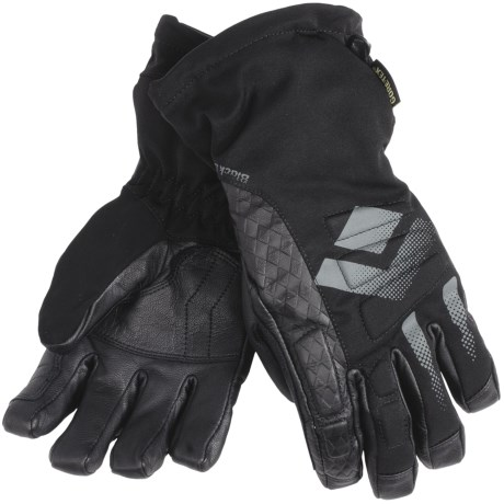 Black Diamond Equipment Squad Gore-Tex® XCR® Gloves - Waterproof, Insulated (For Women) in Black