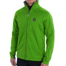 Black Diamond Equipment Stack Windstopper® Soft Shell Jacket (For Men) in Vibrant Green - Closeouts