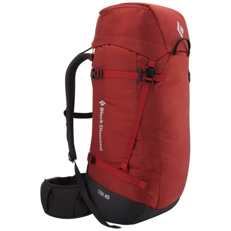 Black Diamond Equipment Stone 45 Backpack in Deep Torch