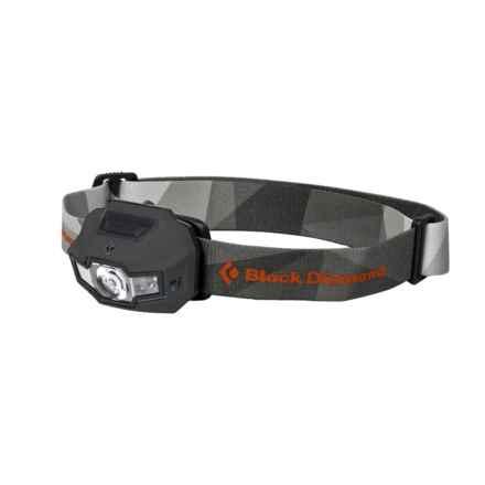 Black Diamond Equipment Storm Headlamp - Waterproof, 160 Lumens in Dark Shadow - Closeouts