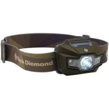 Black Diamond Equipment Storm Headlamp - Waterproof, 160 Lumens in Revolution Green - Closeouts