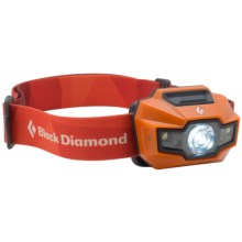 Black Diamond Equipment Storm Headlamp - Waterproof, 160 Lumens in Vibrant Orange - Closeouts