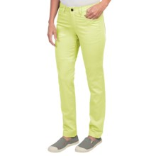 Black Diamond Equipment Stretch Font Pants (For Women) in Lemon - Closeouts