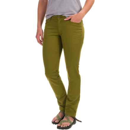 Black Diamond Equipment Stretch Font Pants (For Women) in Sage - Closeouts