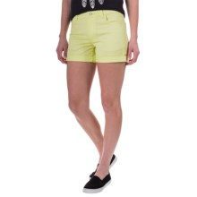 Black Diamond Equipment Stretch Font Shorts (For Women) in Lemon - Closeouts
