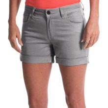 Black Diamond Equipment Stretch Font Shorts (For Women) in Nickel - Closeouts