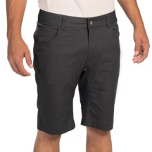 Black Diamond Equipment Stretch Twill Font Shorts (For Men) in Black - Closeouts