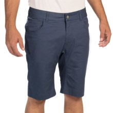 Black Diamond Equipment Stretch Twill Font Shorts (For Men) in Indigo - Closeouts