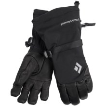 Black Diamond Equipment Super Rambla Gore-Tex® Gloves - Waterproof, Insulated (For Men and Women) in Black - Closeouts