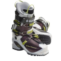 Black Diamond Equipment Swift AT Ski Boots - Dynafit Compatible (For Women) in Potent Purple