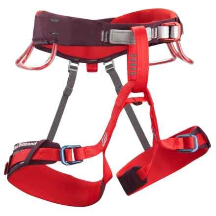 Black Diamond Equipment t Lotus Climbing Harness (For Women) in Fig - Closeouts