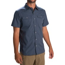 Black Diamond Equipment Technician Shirt - Short Sleeve (For Men) in Indigo - Closeouts