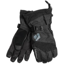 Black Diamond Equipment Torrent Gore-Tex® Gloves - Waterproof (For Men and Women) in Black - Closeouts