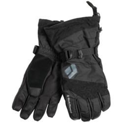 Black Diamond Equipment Torrent Gore-Tex® Gloves - Waterproof (For Men and Women) in Black