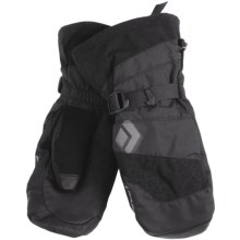 Black Diamond Equipment Torrent Gore-Tex® XCR® Mittens - 3-in-1, Waterproof (For Men) in Black - Closeouts