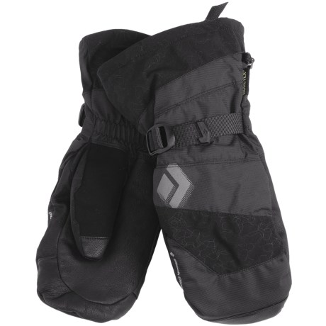 Black Diamond Equipment Torrent Gore-Tex® XCR® Mittens - 3-in-1, Waterproof (For Men) in Black