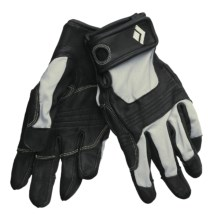 Black Diamond Equipment Transition Climbing Gloves (For Men) in Black - 2nds