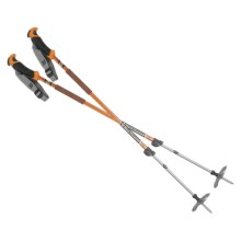 Black Diamond Equipment Traverse Ski Poles - Adjustable, Pair in Burnt Orange - Closeouts